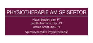 Logo Physiotherapie am Spisertor