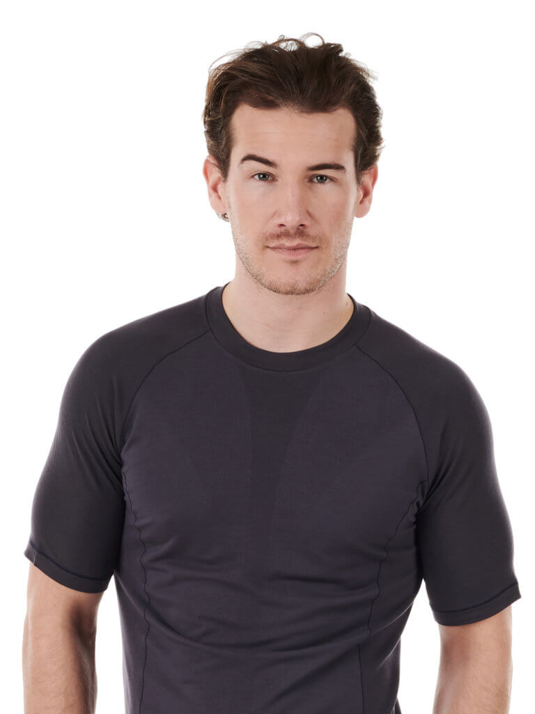 Dagsmejan Men Sleep T-Shirt Dark Grey