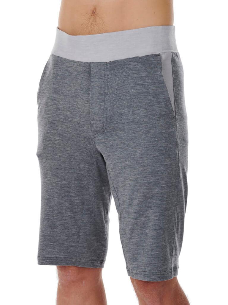 Dagsmejan Men's Stay WArm Sleep Shorts Dark Grey
