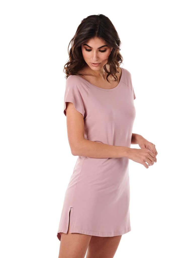 Dagsmejan Women Night Dress Dusty Pink
