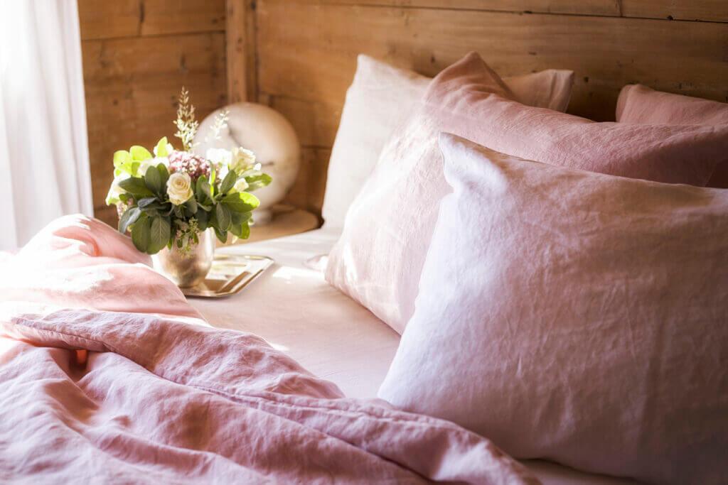 The Linen Company Bettwäsche Classic Rosé